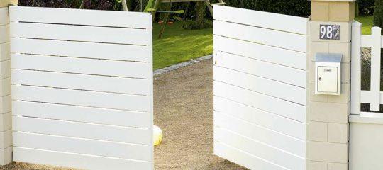 Portails en PVC et en aluminium